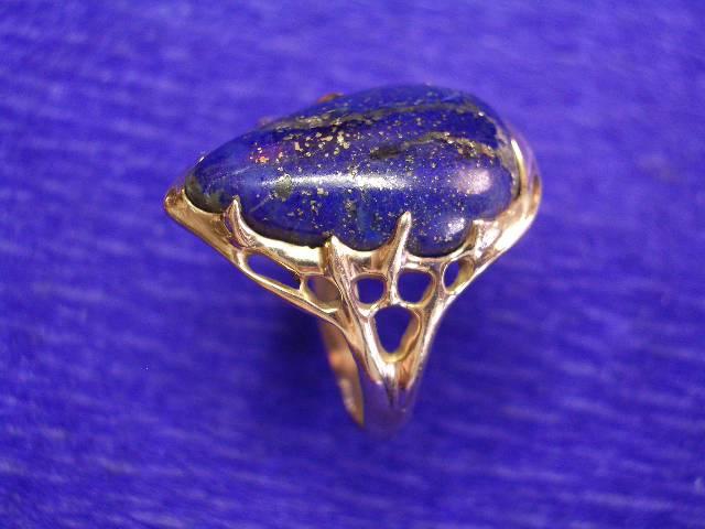 bague lapis lazuli unique fondeurfou. Black Bedroom Furniture Sets. Home Design Ideas