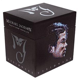 michael jackson visionary coffret 2006 baptiste music collection. Black Bedroom Furniture Sets. Home Design Ideas